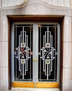 David Cobb Craig: Art Deco Doors in N.Y.C. Great blog with wonderful examples of Art Deco doors