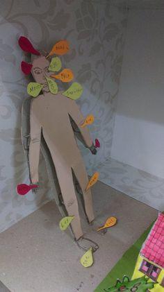 Body parts crafts | funnycrafts