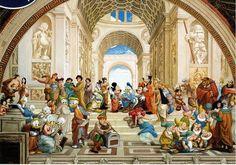 "Jigsaw Puzzles 1000 Pieces ""Disney : School of Athens"" / Disney"