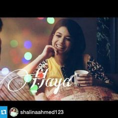 """My Super Cute Sanam Jung As Haya ❤❤❤ Don't Forget to watch """"Alvida"""" Every Wednesdays at 8pm"""