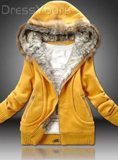 $ 28.99 New Fashion Thicken Long Sleeve Solid Color Hoodie
