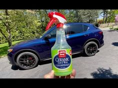 GRIOTS Garage Ceramic 3 in 1 Wax | Ceramic Hybrid PERFECTION! - YouTube Spray Bottle, Cleaning Supplies, Automobile, Wax, Garage, Ceramics, My Favorite Things, Youtube, Car