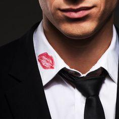 Lipstick on your collar <3