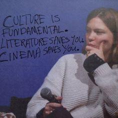 chloe sevigny 1974: Culture is fundamental. Literature saves you. Cinema saves you. - Léa Seydoux