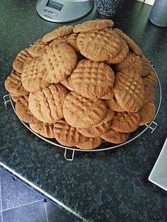 Erdnussbutter - Kekse