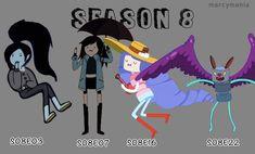 Adventure Time Marceline, Adventure Time Art, Marceline Outfits, Flame Princess, Vampire Queen, Gay Art, Season 7, Life Is Like, Cartoon Network