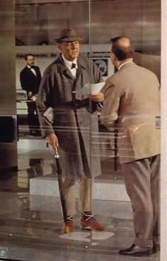 Jacques Tati in Playtime (1967)