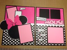Scrap-Obsessed: Minnie Mouse Layout