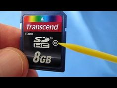 SD SDHC Card Problems and Fixes (Card Locked, Card Error, No Memory Card, Format Card) - YouTube