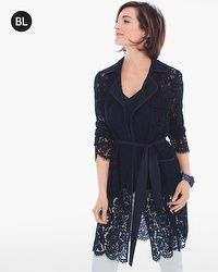 Black Label Soft Lace Jacket