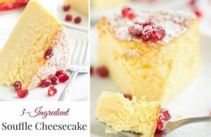 3 Ingredient Cheesecake Japanese Souffle Video Tutorial