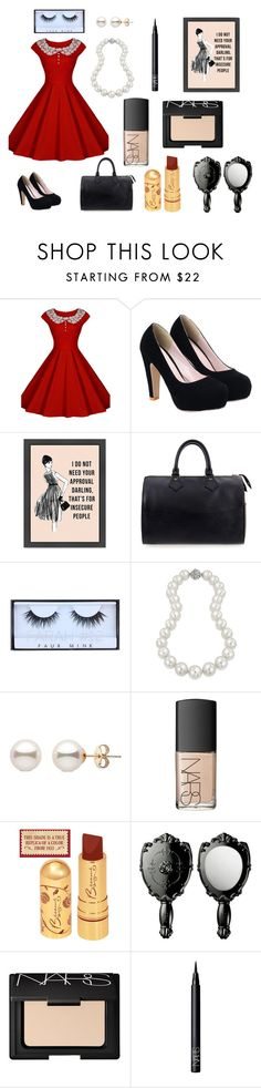 """""""Untitled #171"""" by portia-rosie ❤ liked on Polyvore featuring Chicnova Fashion, Louis Vuitton, Huda Beauty, Bling Jewelry and NARS Cosmetics"""