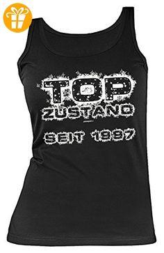 20. Geburtstag 20 Jahre Geschenk zum 20 Geburtstag Leiberl Damen Tank Top Shirt Girly Geburtstagsgeschenk Freundin Top Zustand seit 1997 Gr: L (*Partner-Link)