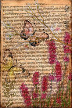 Danielle Maret - mail art Postcard 180