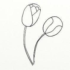 Cum se deseneaza doua lalele - By Oana
