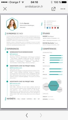 Cv Web Marketing More