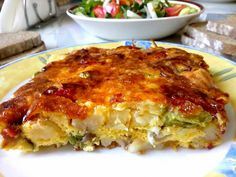 Cookbook Recipes, Cooking Recipes, Toddler Meals, Toddler Recipes, Lasagna, Quiche, Brunch, Food And Drink, Breakfast