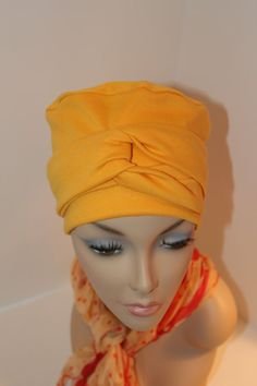 Chemo Hat Cancer Cap Cotton Jersey Knit Warm in a by ThePinkScarab, $20.00