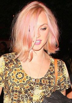 Rose Gold Hair: Fearne Cotton