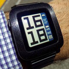 Timestyle es la #watchface recomendada hoy en tiempoescaso.es #pebble #watch #nofilter #smartwatch
