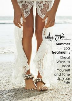 With its sunny weather, carefree attitude and bright, bare-all wardrobe, summer truly is the season to be seen. www.mia-spa.ca