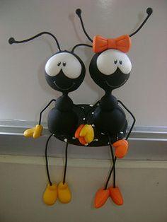 Resultado de imagem para hormigas en porcelana fria