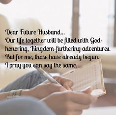 An Open Letter to My Future Husband...I'm Not Waiting for You | Reckless Abandonment