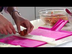Choumicha: Briouates de viande hachée sucrées et salées / شميشة : بريوات... https://www.facebook.com/pages/Choumicha/133842746649938