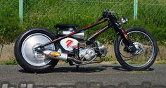 """Honda 90 super cub """"Molly-K"""" Chopper"""