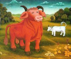 The red bull  - Ivan Generalic