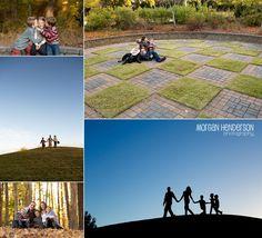 Fun Fall Family Photos   Durham family photographer - Morgan Henderson Photography