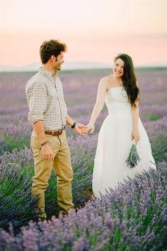 Lavender Field Couples Shoot in Spain by Natalia Ortiz Wedding Planner Spain Purple Roses, Lavender Roses, Rose Flowers, Wedding Shoot, Wedding Dresses, Tulip Wedding, Wedding Abroad, Lavandula, Tulips