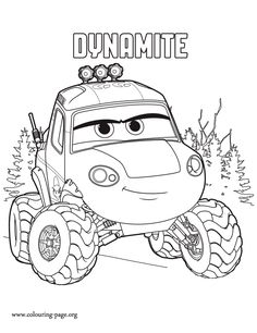 Meet Dynamite! She is a strong and sassy plane who is the leader of The Smokejumpers. What about coloring this Planes 2: Fire and Rescue coloring page? Enjoy!