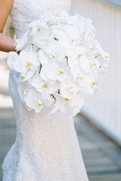 Orchid wedding bouquet