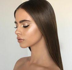 Pinterest: DEBORAHPRAHA ♥️ glowy makeup look