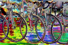Saatchi Online Artist: George Marlowe; Photomanipulation, 2012, Digital Expensive Techno Bikes