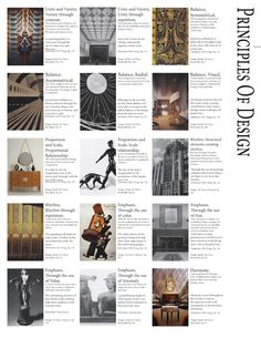 Assignment 1, Elements and Principles of design posters were a great foundational tool for the vocabulary and work load for this ID 103 sum...