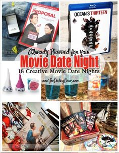 So CUTE! You click on a movie, and they have a whole date night planned out that sticks to the theme of the movie. Fun!
