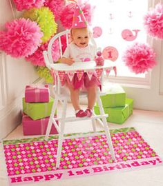 high chair decorating - Google Search