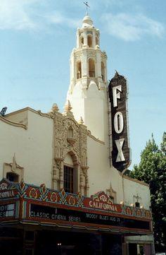 Fox Theater Stockton, CA - Bob Hope Theater!  Historic Stockton