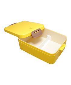 Take a look at this Yellow Deep Bento Box today!