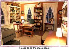 Susan Branch's art studio