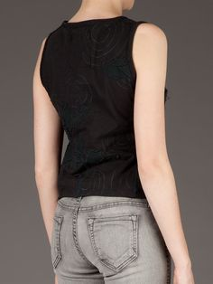Projet Alabama Sleeveless T-shirt