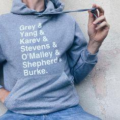 Greys Anatomy OG Unisex Hooded Sweatshirt #greysanatomy