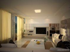 lágy semleges - nappali szoba lakberendezési ötletek, látványtervek