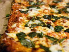 Pizza at Artichoke Basille's and Solo Pizza