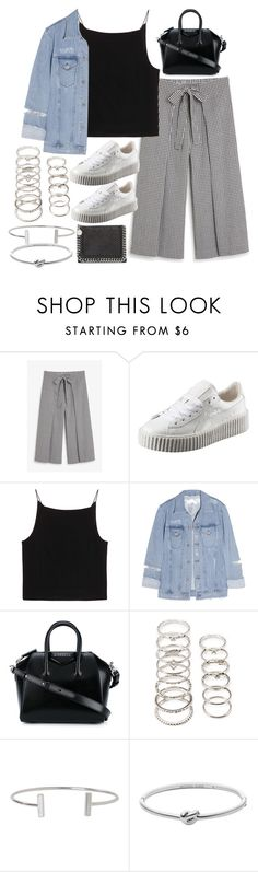 """""""Sin título #2085"""" by alx97 ❤ liked on Polyvore featuring Monki, Puma, T By Alexander Wang, Acne Studios, Givenchy, Forever 21, Humble Chic, Michael Kors and STELLA McCARTNEY"""