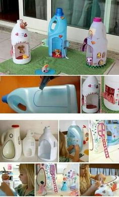 DIY a house for ur little toy...why not?