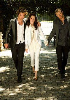 Rob, Kristen and Kellen in 2008 photoshoot