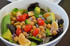 Eat to Live: What I Ate on Day 3, dinner salad | My Momma Told Me
